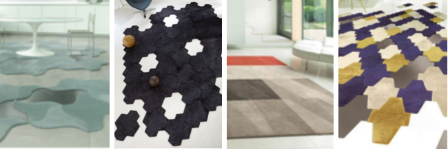 Dalle Bloom, Dalle Shaggy, Dalle Cut, Dalle Mesh par Vorwerk, toutes modulables