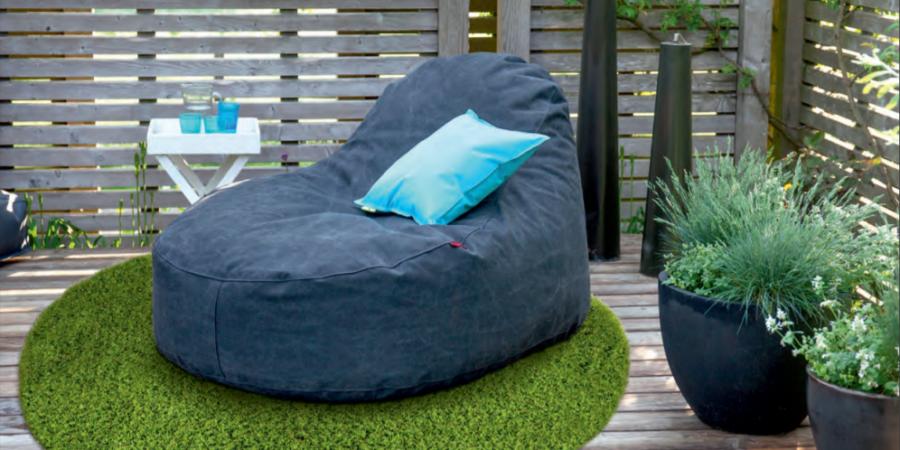 tapis chic tapis d'extérieur terrasse gazon tapis rond sur mesure