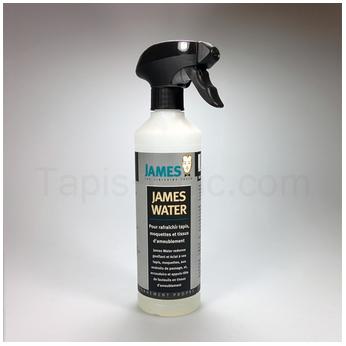Produit de nettoyage de tapis James Water