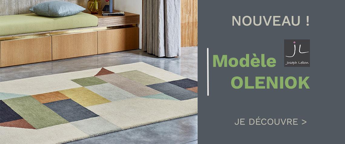 Découvrez nos nouveaux tapis de la gamme Joseph Lebon